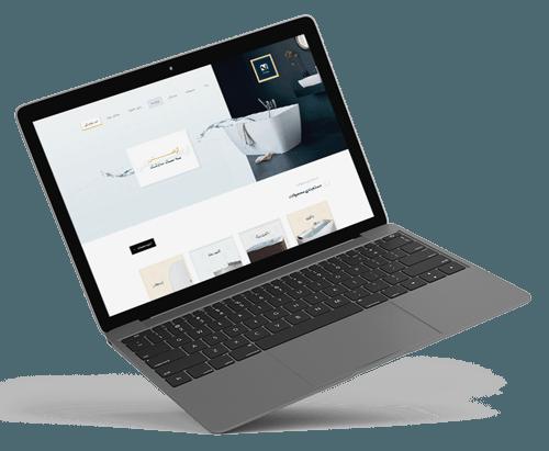scitech new design - خدمات طراحی وب سایت